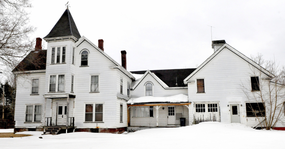"""The former home of the Dr. Harrison Aldrich on Main Street in Unity might be renovated into a lodging establishment named """"The Doctor's Inn."""""""