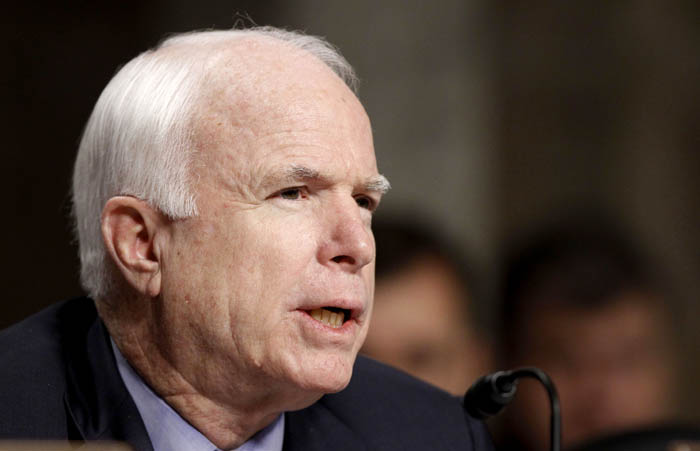 """Sen. John McCain:  """"I think the president has one of two choices: either retract, or to provide the information that the American people deserve."""""""