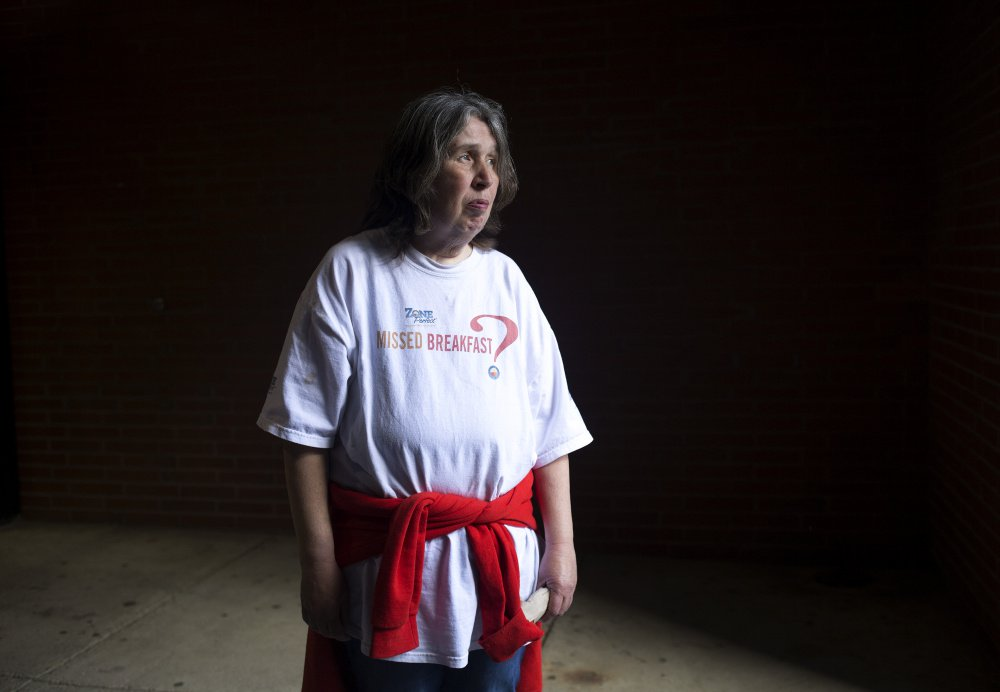 Margaret Peters, who has lived in Portland for more than 30 years, is being evicted from her apartment as a result of the city condemning the building as a disorderly house. This is her second eviction in two years.