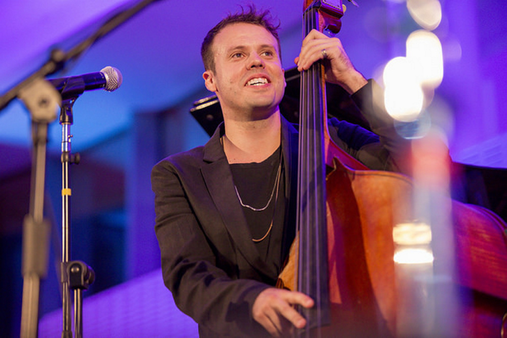 Bassist Michael Thurber will perform during the July 2 Classical Meets Pop Concert at Mount Vernon Community Center.