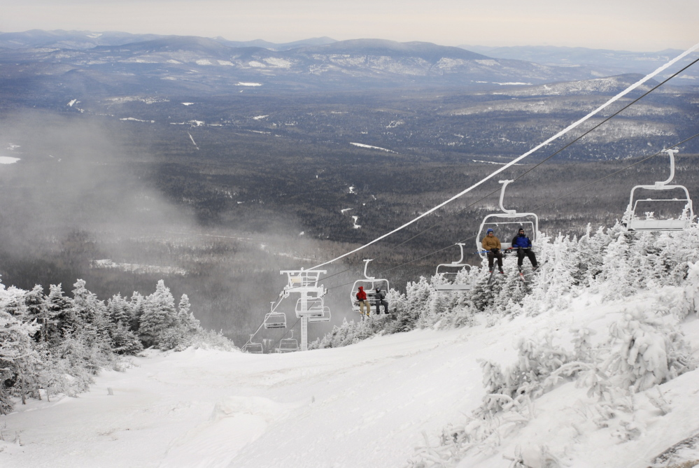 Saddleback Mountain resort has been sold after operations have sat idle the past two winters. Officials planned a Wednesday news conference to announce details of the sale.