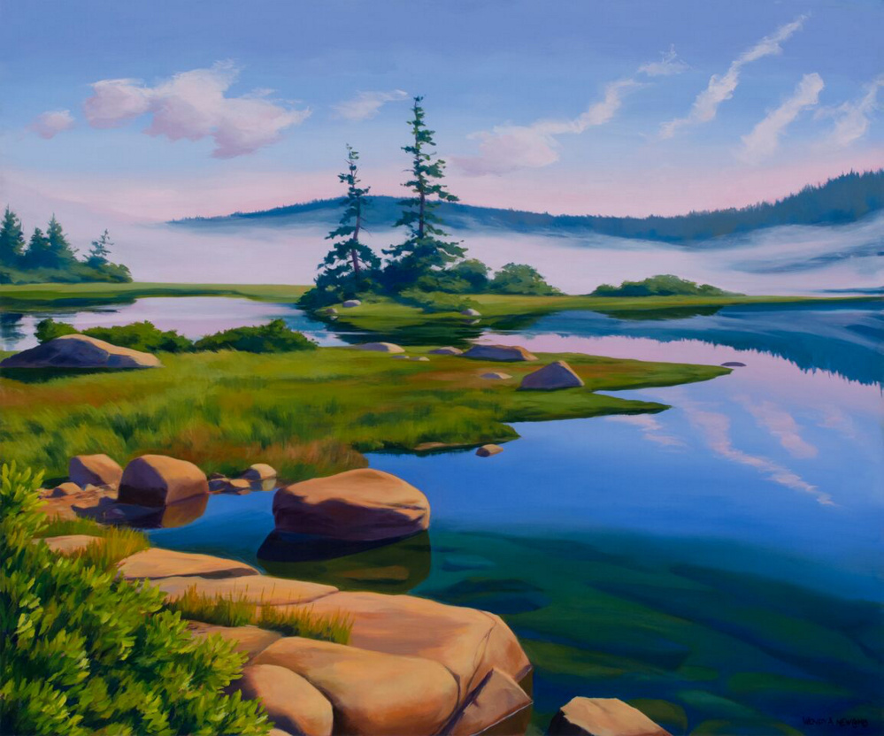 """""""Basin Mist"""" by Wendy Newcomb"""