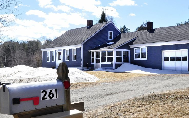 This home at 261 South Horseback Road in Burnham is where police investigated the unusual circumstances in the death of home owner Joyce Wood.