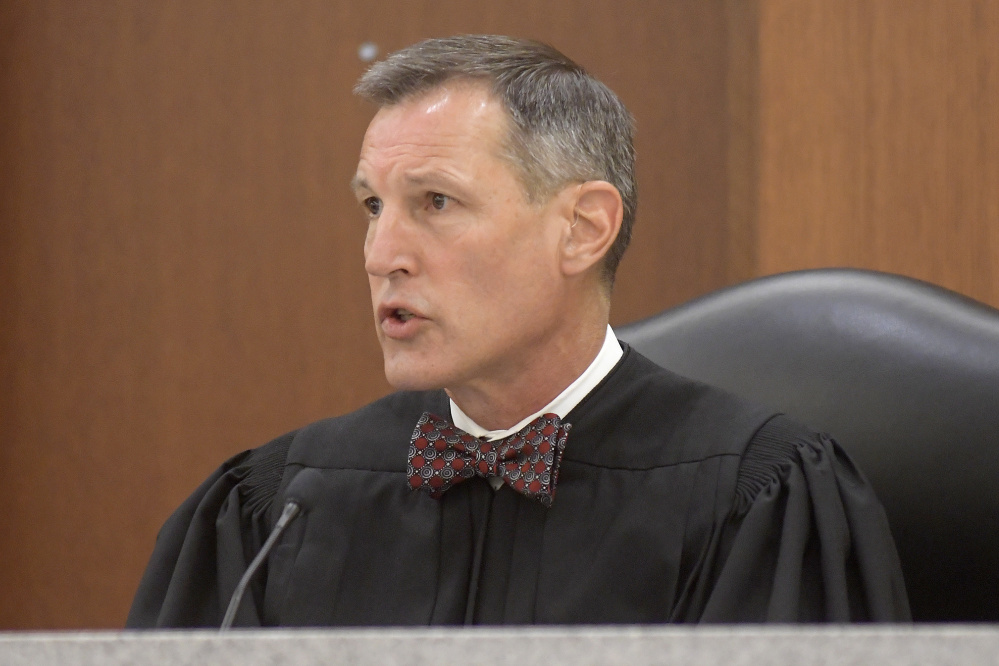 Justice Bruce Mallonee ruled Wednesday against an appeal by Thomas Mitchell for a new trial at the Capital Judicial Center in Augusta for the murder conviction in the 1983 stabbing death of Judith Flagg in Fayette.