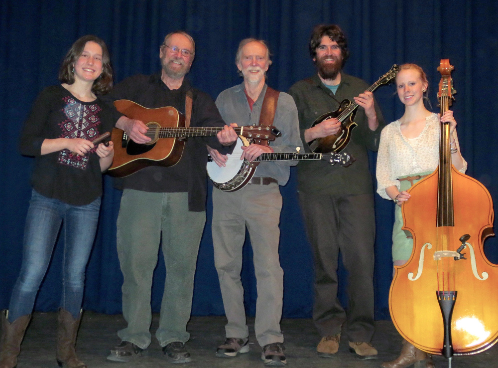 The Sandy River Ramblers will perform at 2 p.m. Sunday, Sept. 24, at Reeds Mills Church in Madrid.