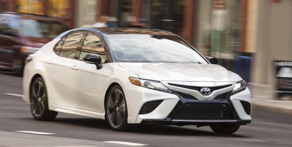 Toyota's 2018 Camry has an eight-speed transmission that was first tested in the Highlander SUV.