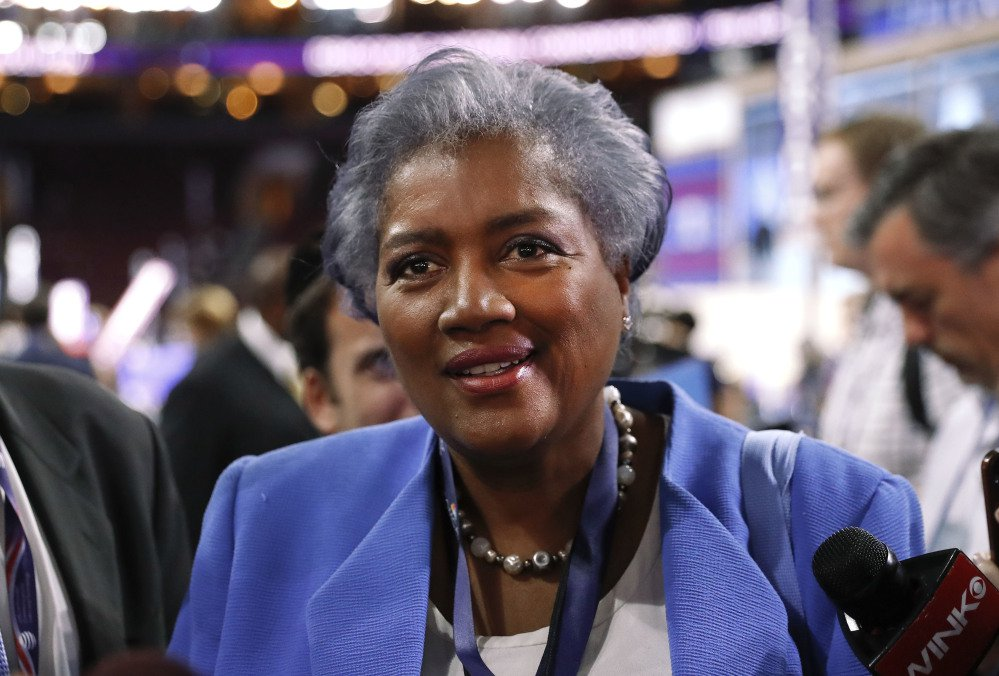 Donna Brazile, who was interim chair of the Democratic National Committee during the 2016 election, has written a book about the campaign.