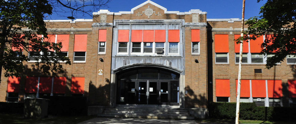 Voters have rejected a $10.33 million bond proposal that would have closed the Winslow Junior High School building, seen here last month, moving seventh- and eighth-graders to the high school and sixth-graders to the elementary school while paying for renovations at those two schools.
