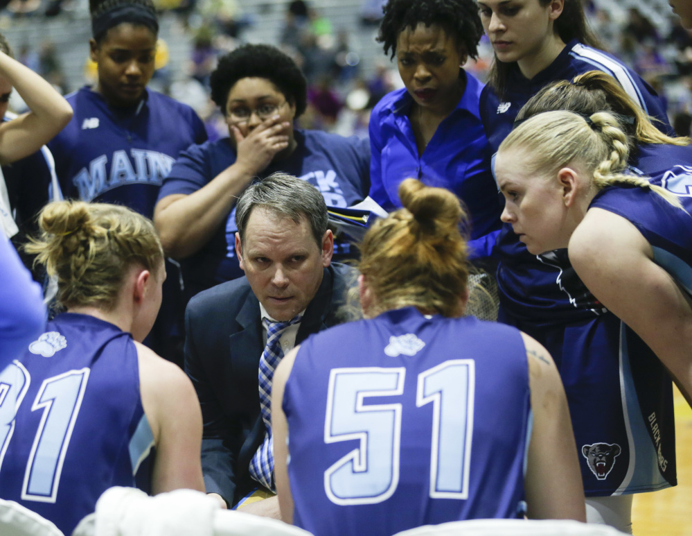 Richard Barron would like to return as the Maine women's basketball coach when his health permits. He's still not fit enough, but far better than he was a year ago.