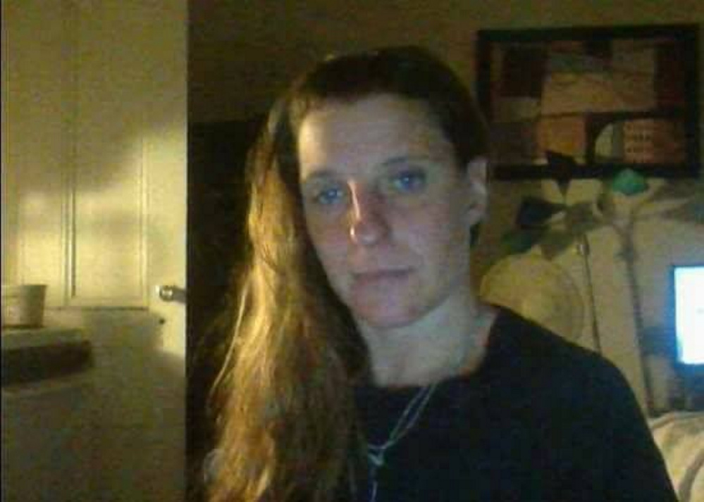 A recent photo of Tina Stadig, reported missing in May. The Major Crimes Unit of the Maine State Police now is investigating the case.