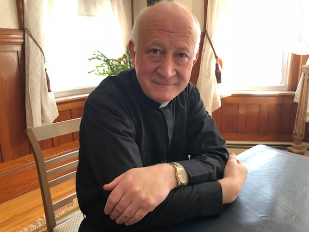 The Rev. James L. Nadeau, pastor of Christ the King Parish, serving Catholic churches in Skowhegan, Madison and Bingham, says the parish has had difficulty finding a volunteer coordinator for the soup kitchen and has shut it down. The church continues to give out food to be cooked off the premises.