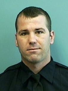 A jury is deliberating after the trial of Daniel Hersl, shown here, and a fellow police officer charged in one of the largest scandals in the Baltimore Police Department's history. Hersl has pleaded not guilty to charges of racketeering and robbery that he allegedly committed while he was a member of a disbanded police unit called the Gun Trace Task Force. (Baltimore Police Department via AP, File)