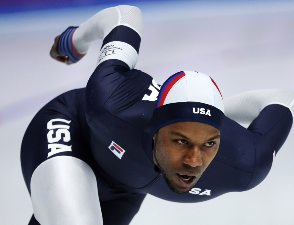 """Shani Davis finished a disappointing 19th in the 1,500 speedskating race on Tuesday at the Olympics. """"The ice is super fast,"""" Davis said. """"Unfortunately, I wasn't."""""""