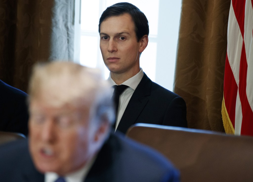 White House senior adviser Jared Kushner, shown in November, has had his security clearance downgraded.