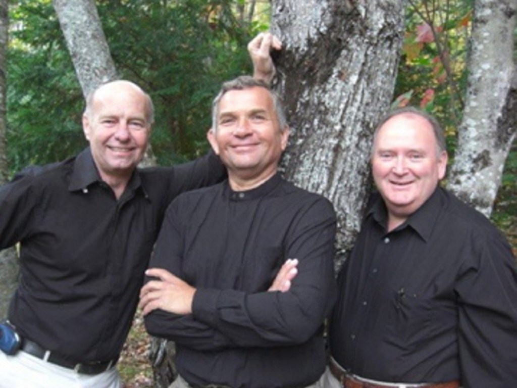 Heaven's Blend members, from left, are Tim Connelly, Gary Leet and Tom Rawley.