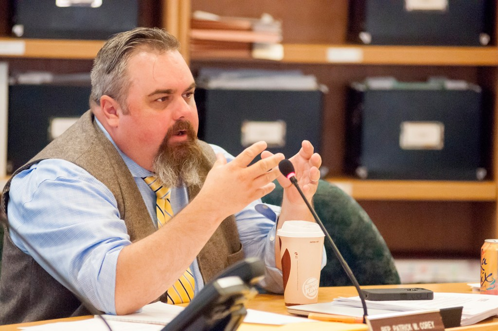 Rep. Patrick W. Corey, R-Windham, is calling for the state to borrow $20 million to fund school safety improvements.