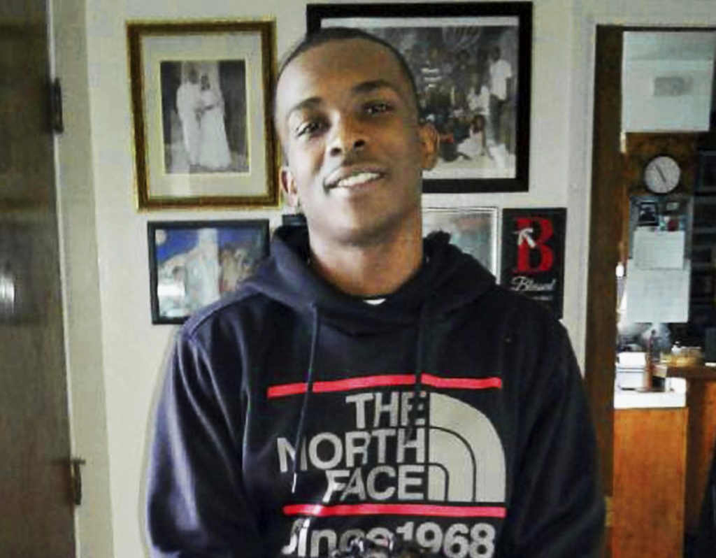 Stephon Clark, 22, on the afternoon of March 18. He was killed later at his grandmother's Sacramento home. An autopsy showed that he was hit by eight bullets.