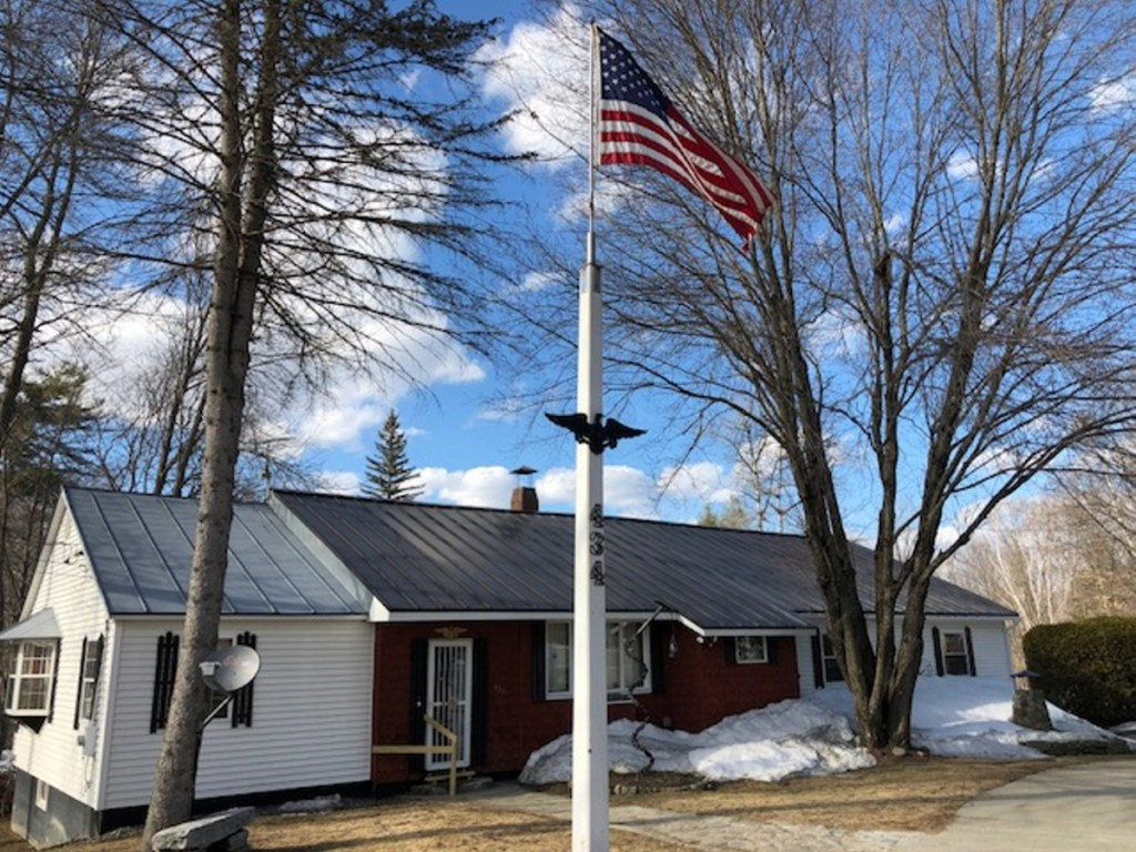 The Skowhegan Road home of William Hale and Marie Lancaster-Hale stands empty Saturday afternoon in Norridgewock after police discovered and removed the couple's bodies there in what state police called an instance of murder-suicide.