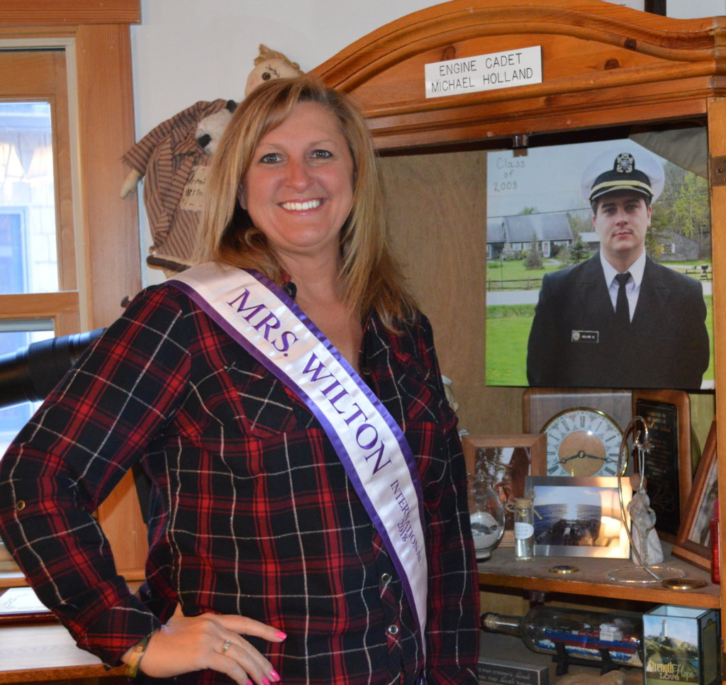 Deb Roberts, 48, of Wilton will compete for the title of Mrs. Maine International on Friday, Saturday and Sunday at Crooker Theater in Brunswick.
