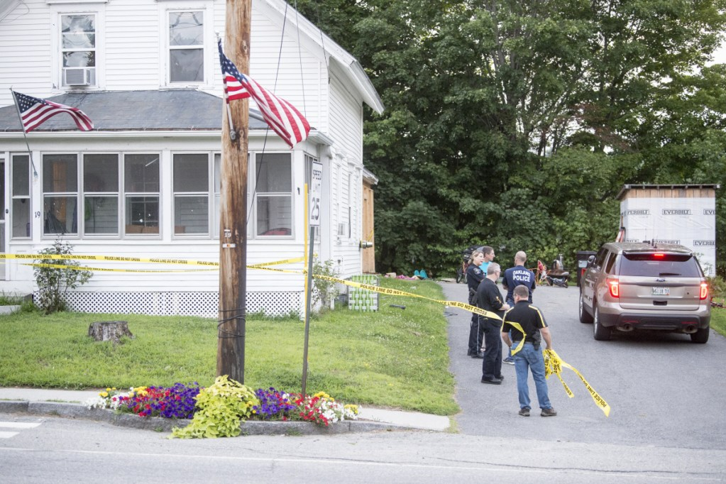 Maine State Police and the Oakland Police Department were sent to 19 Church St. in Oakland on Tuesday to investigate a death. A Department of Public Safety news release identified the person who died as an 8-year-old boy.