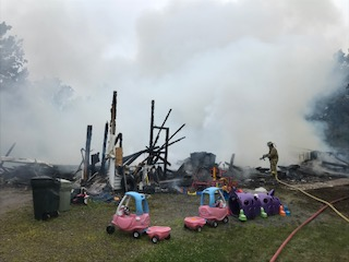 Multiple fire departments were responding Monday morning to the scene of a house fire on Hillcrest Drive Extension off Route 226 in Chelsea.