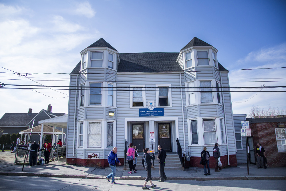 Over the last decade, about one-third of the people using Portland's Oxford Street Shelter have come from other Maine cities and towns. Portland started billing those communities this year, but now the Maine Welfare Directors Association says they shouldn't pay.