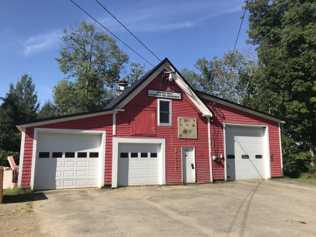A leaky roof at the Coopers Mills Fire Department Association's Main Street station could be fixed next year after Whitefield town officials started the process of putting a $12,600 line item in the budget for the next fiscal year.
