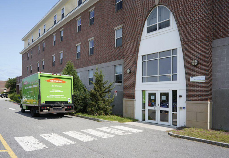 Spring Point Residence Hall at SMCC was evacuated in August because of mold