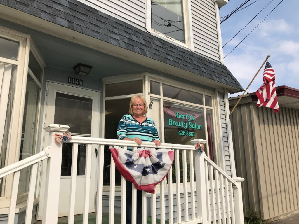 Nancy Shibles owns Gerry's Beauty Salon in Clinton and believes her current property valuation is accurate, but has no opinion on the proposed town-wide revaluation.