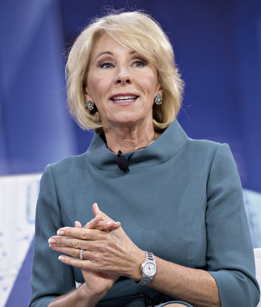 The ruling Tuesday is a setback for Education Secretary Betsy DeVos, who has prioritized deregulating for-profit colleges.