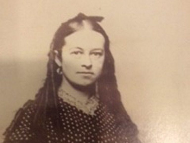 Ellen Forbes, a Civil War nurse who tended to soldiers on the battlefield.