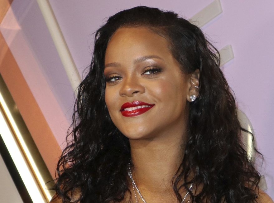 """Rihanna doesn't want her music associated with the president's """"tragic rallies."""""""
