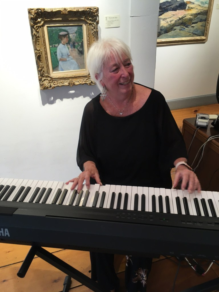 TKeyboardist Terry Heller will play holiday favorites from 2 to 5 p.m. Saturday, Dec. 8, in Wiscasset Bay Gallery Wiscasset Holiday Marketfest.