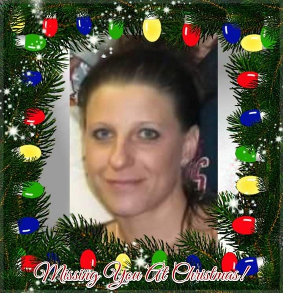 Donna Almeida Carter posted a picture on social media of her daughter, Tina Stadig, with Christmas lights circling her head as she got ready to spend another Christmas without her. Stadig, of Skowhegan, has been missing since the summer of 2017.