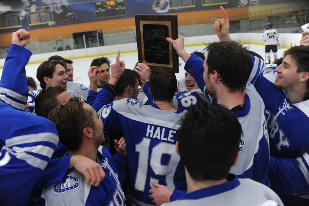 For the first time in program history, the Colby College men's hockey team advanced to the NCAA Division III national tournament.