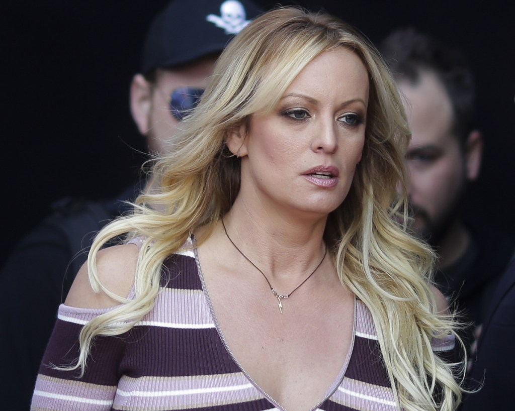 A judge ordered adult film actress Stormy Daniels to pay Donald Trump nearly $293,000 for his attorneys' fees and another $1,000 in sanctions after her defamation suit against the president was dismissed.