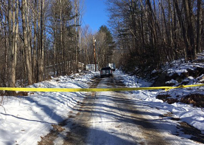 Maine State Police are investigating the death of a woman found in her home in Hartford.