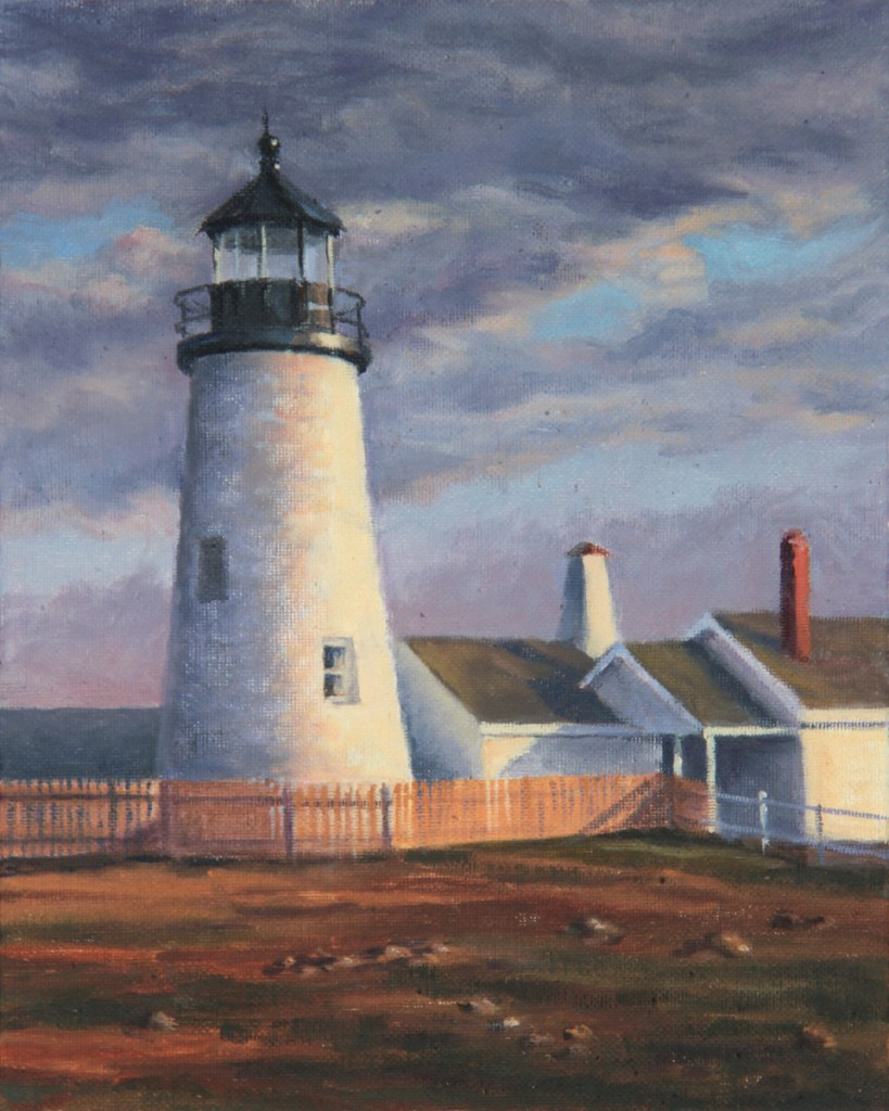 """""""Pemaquid Light"""" by Will Kefauver."""