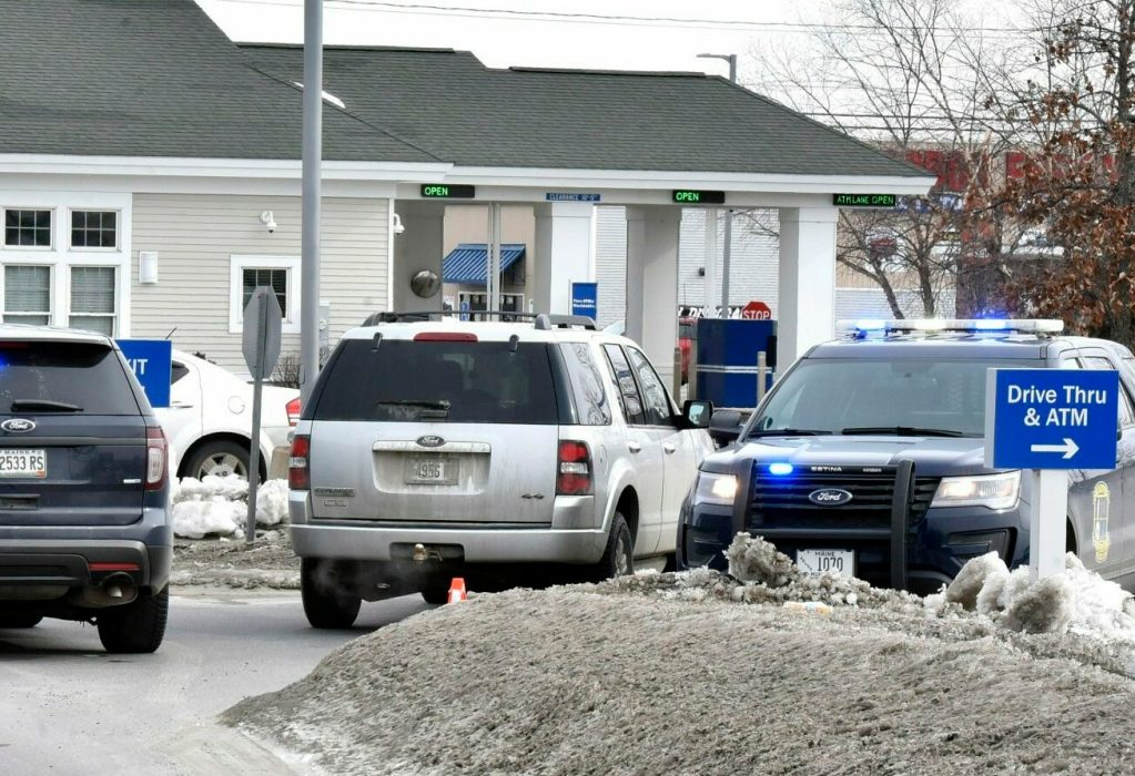 Feds Put Brakes On Special Education >> Fleeing Waterville Bank Robber Slips Spills Money Gun In Front Of