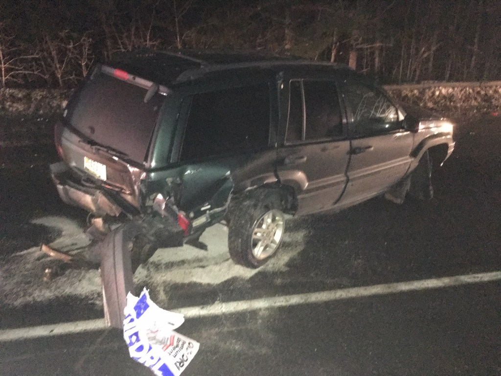 Three vehicles were involved in an accident on Madison Road in Norridgewock Tuesday night. A cornville man was transported to the hospital, and a Portland man was charged with driving under the influence.