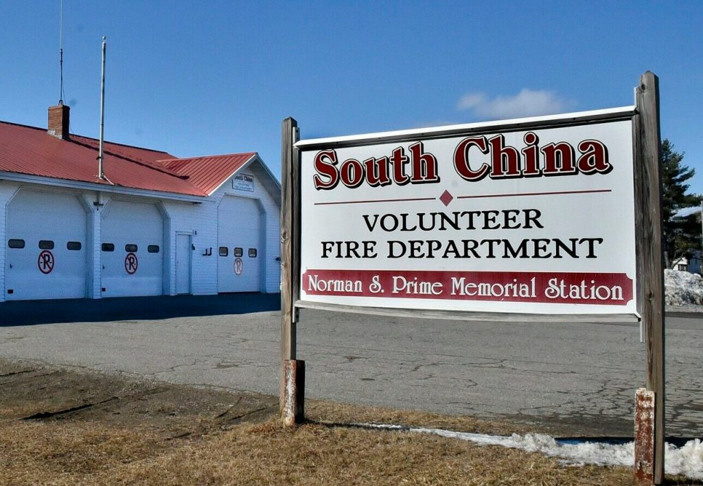 The South China Volunteer Fire Department, whose station is seen here Sunday, is one of three China fire departments whose chiefs have expressed concerns to the China Board of Selectmen over a proposal to decrease volunteer fire department stipends. Town Manager Dennis Heath defended the selectmen's decision in a press statement Tuesday.