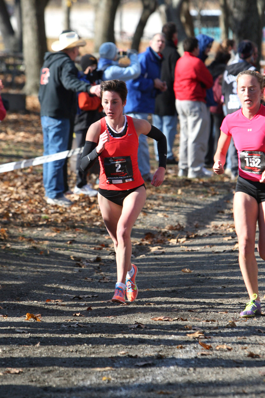 Abbey Leonardi of Kennebunk expects to place well at todayâ s national cross country meet in San Diego, in part because of a more focused training program.