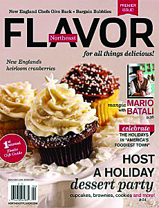New since November is Northeast Flavor magazine, published four times a year out of Kittery Point.
