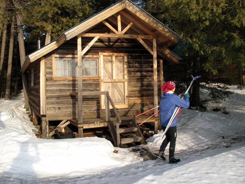 Hiking New Lodge Restored Cabins Add To Ski And Stay