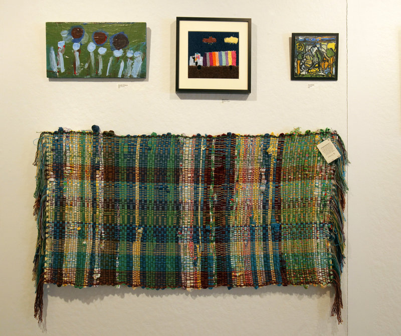 "The Harlow Gallery is currently exhibiting a group show called ""Mosaic"" from members of Spindleworks in Brunswick."