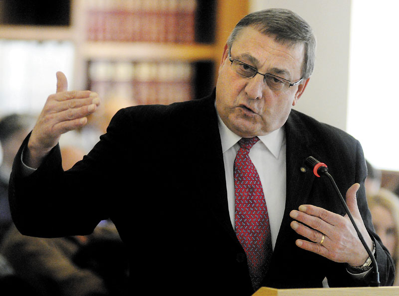 Gov. Paul LePage's belittling of his political opponents distracts from his agenda and gets in the way of civil debate, Republican state senators say.