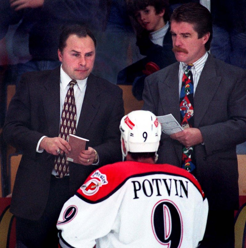 Barry Trotz was the Pirates' first coach and led the team to the 1994 Calder Cup in its first season. In 1997, Trotz left to coach the NHL's Nashville Predators. He's still coaching in Nashville.