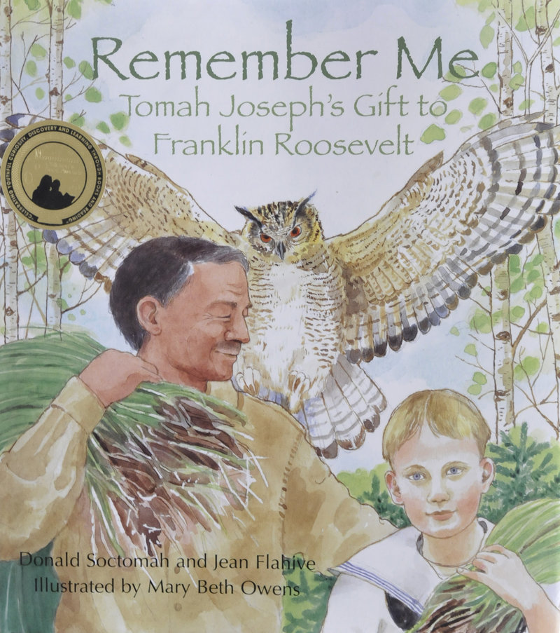 """Remember Me,"" a children's book about Joseph's friendship with a young Franklin Delano Roosevelt."