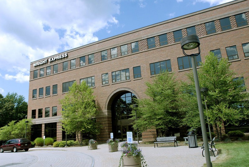 Wright Express headquarters in South Portland.
