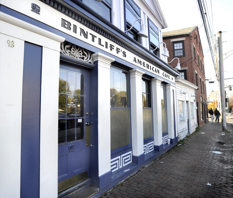 Bintliff's American Cafe serves brunch daily at 98 Portland St. in Portland.